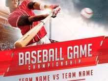 95 Free Baseball Flyer Template Free in Word for Baseball Flyer Template Free