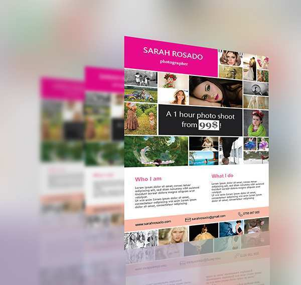 95 Free Collage Flyer Template Formating with Collage Flyer Template