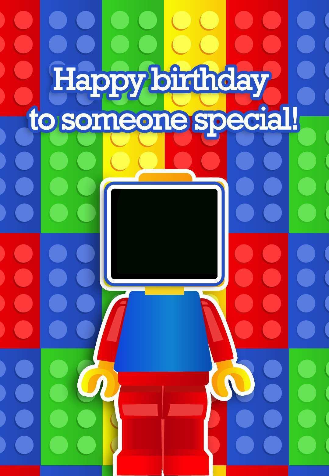 30 Free Printable Ninjago Birthday Card Template Layouts by ...