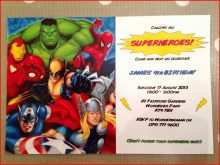 95 How To Create Marvel Birthday Card Template in Photoshop with Marvel Birthday Card Template