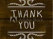 95 Online Adobe Thank You Card Template for Ms Word for Adobe Thank You Card Template