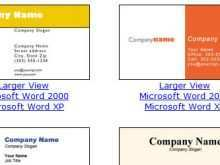 95 Printable Business Card Templates Word Free in Photoshop for Business Card Templates Word Free