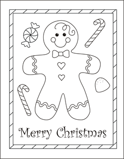 95 Printable Christmas Card Templates To Colour in Word for Christmas Card Templates To Colour