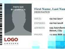 95 Printable Company Id Card Template Word Free Download With Stunning Design by Company Id Card Template Word Free Download