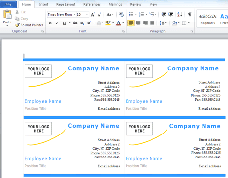 95 Printable Name Card Template In Microsoft Word Photo With Name Card Template In Microsoft Word Cards Design Templates
