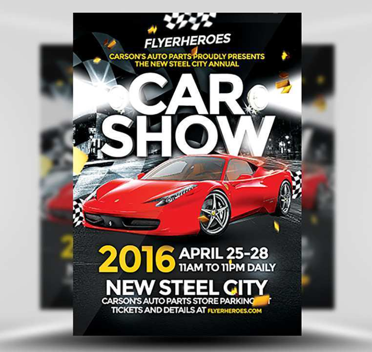 95 Standard Car Flyer Template Formating for Car Flyer Template