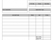 95 Standard Gst Vat Invoice Template Download with Gst Vat Invoice Template