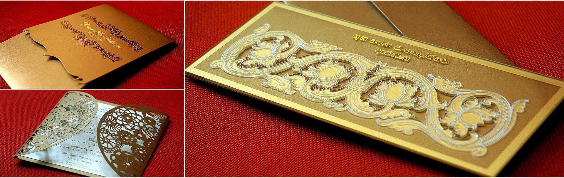 sri lankan wedding card templates  cards design templates