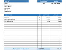 96 Basic Company Invoice Template Now by Basic Company Invoice Template