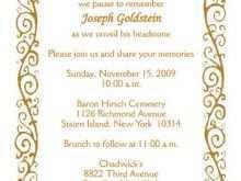 Invitation Card New Template