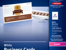 96 Blank Avery Business Card Template 05371 Templates by Avery Business Card Template 05371