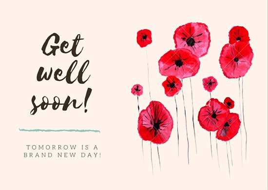 96 Blank Get Well Soon Card Templates Photo with Get Well Soon Card Templates