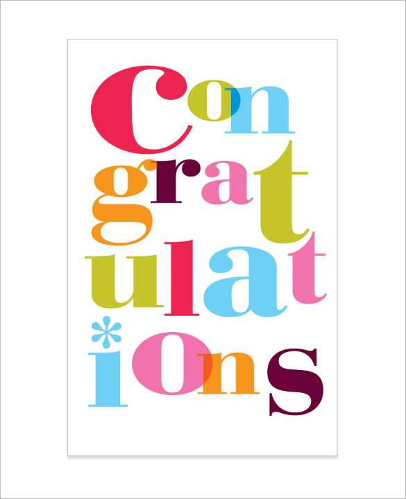 96 Congratulations Card Template For Word Download for Congratulations Card Template For Word