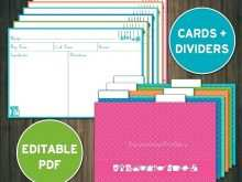 96 Creative 3X5 Index Card Template Printable Now by 3X5 Index Card Template Printable