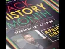 96 Format Black History Month Flyer Template Free For Free with Black History Month Flyer Template Free