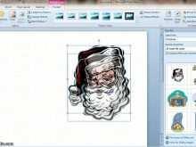 Microsoft Word Christmas Card Templates