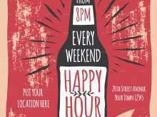 96 Free Happy Hour Flyer Template Free Photo for Happy Hour Flyer Template Free