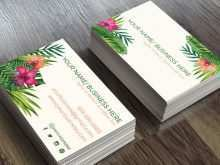 96 How To Create Floral Name Card Template Free Photo by Floral Name Card Template Free