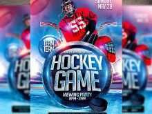 96 Online Free Hockey Flyer Template For Free by Free Hockey Flyer Template