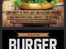97 Adding Burger Promotion Flyer Template Download for Burger Promotion Flyer Template