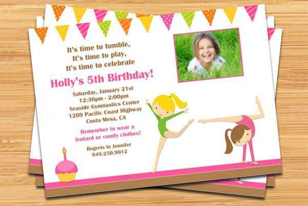 97 Best 5Th Birthday Card Template Templates for 5Th Birthday Card Template