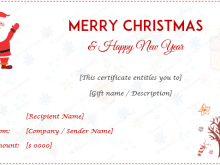 97 Blank Christmas Gift Card Template Download for Christmas Gift Card Template Download