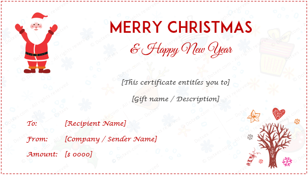 97 Blank Christmas Gift Card Template Download For Christmas Gift Card Template Download Cards Design Templates