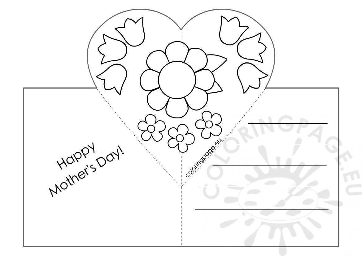 97 Blank Mother S Day Pop Up Card Templates in Photoshop by Mother S Day Pop Up Card Templates