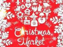 Christmas Fair Flyer Template