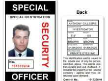 Id Card Template Security