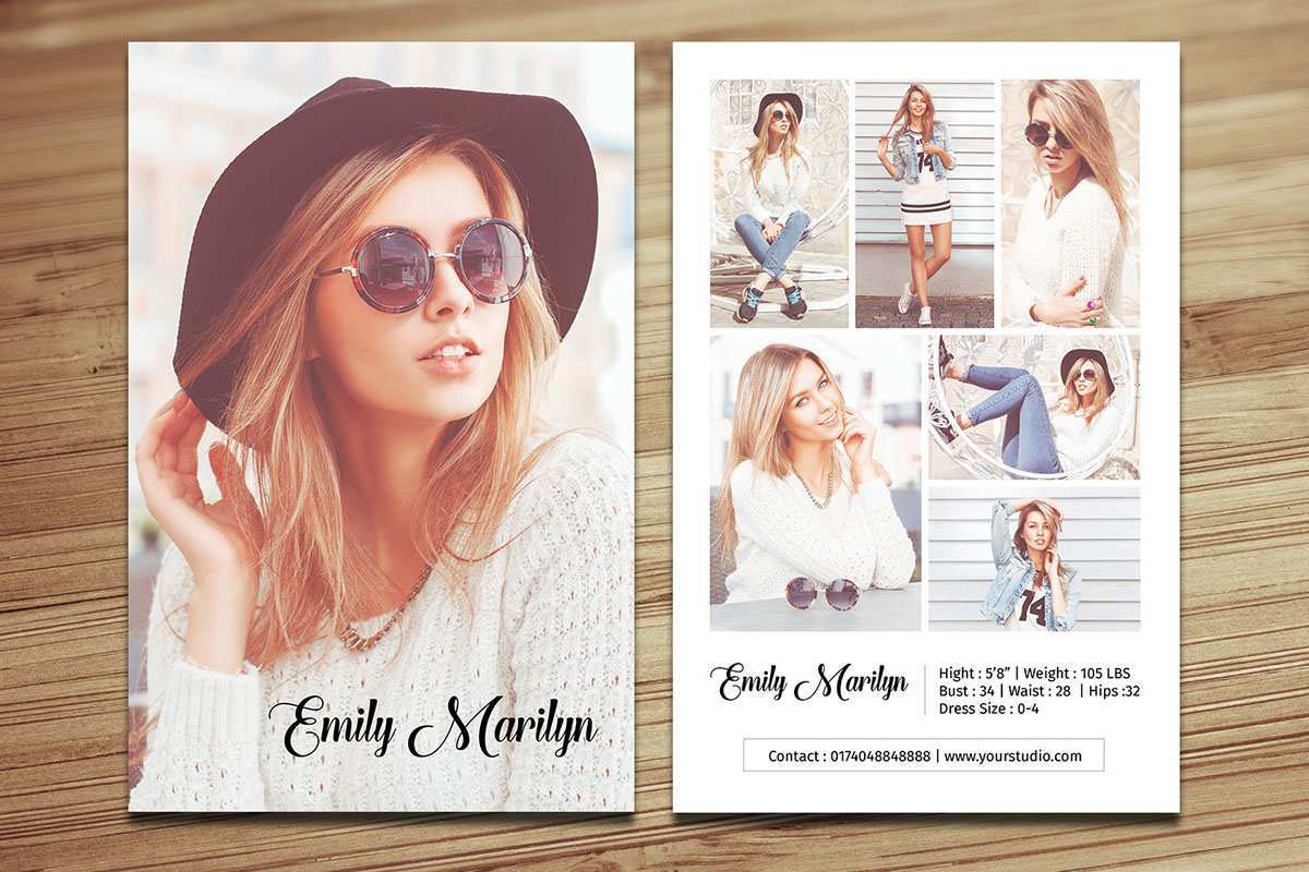 97 Creating Comp Card Template For Microsoft Word in Word with Comp Card Template For Microsoft Word