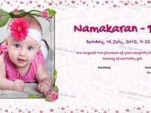 97 Creating Invitation Card Format Naming Ceremony Templates for Invitation Card Format Naming Ceremony