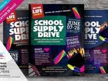 97 Creative Back To School Drive Flyer Template With Stunning Design by Back To School Drive Flyer Template