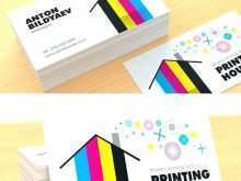 Business Card Template Free Print At Home