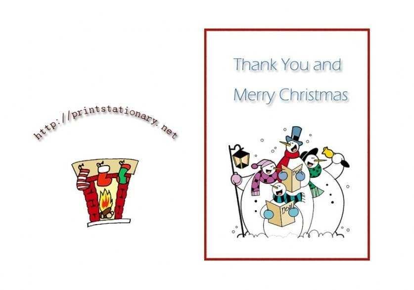 97 Customize Christmas Thank You Card Templates Free PSD File by Christmas Thank You Card Templates Free