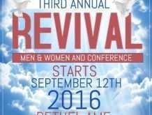 97 Customize Church Revival Flyer Template Photo by Church Revival Flyer Template
