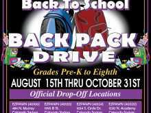97 Customize Our Free Back To School Drive Flyer Template in Word for Back To School Drive Flyer Template