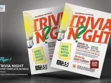 97 Customize Trivia Night Flyer Template Formating with Trivia Night Flyer Template