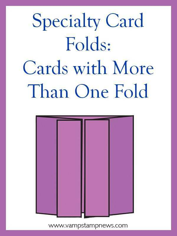 97 Format 1 Fold Card Template For Free with 1 Fold Card Template