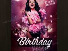 Birthday Flyer Template Photoshop