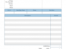 97 Free Blank Invoice Template For Mac Download for Blank Invoice Template For Mac