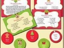 97 Free Christmas Recipe Card Template Free Editable Formating with Christmas Recipe Card Template Free Editable