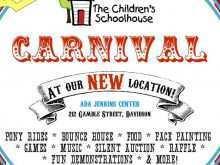 97 Free Printable School Carnival Flyer Template Maker with School Carnival Flyer Template