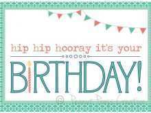 Birthday Card Templates Online Free