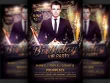 97 How To Create Birthday Party Flyer Template For Free by Birthday Party Flyer Template