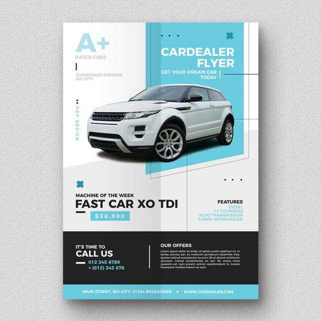 97 How To Create Car Flyer Template Maker with Car Flyer Template