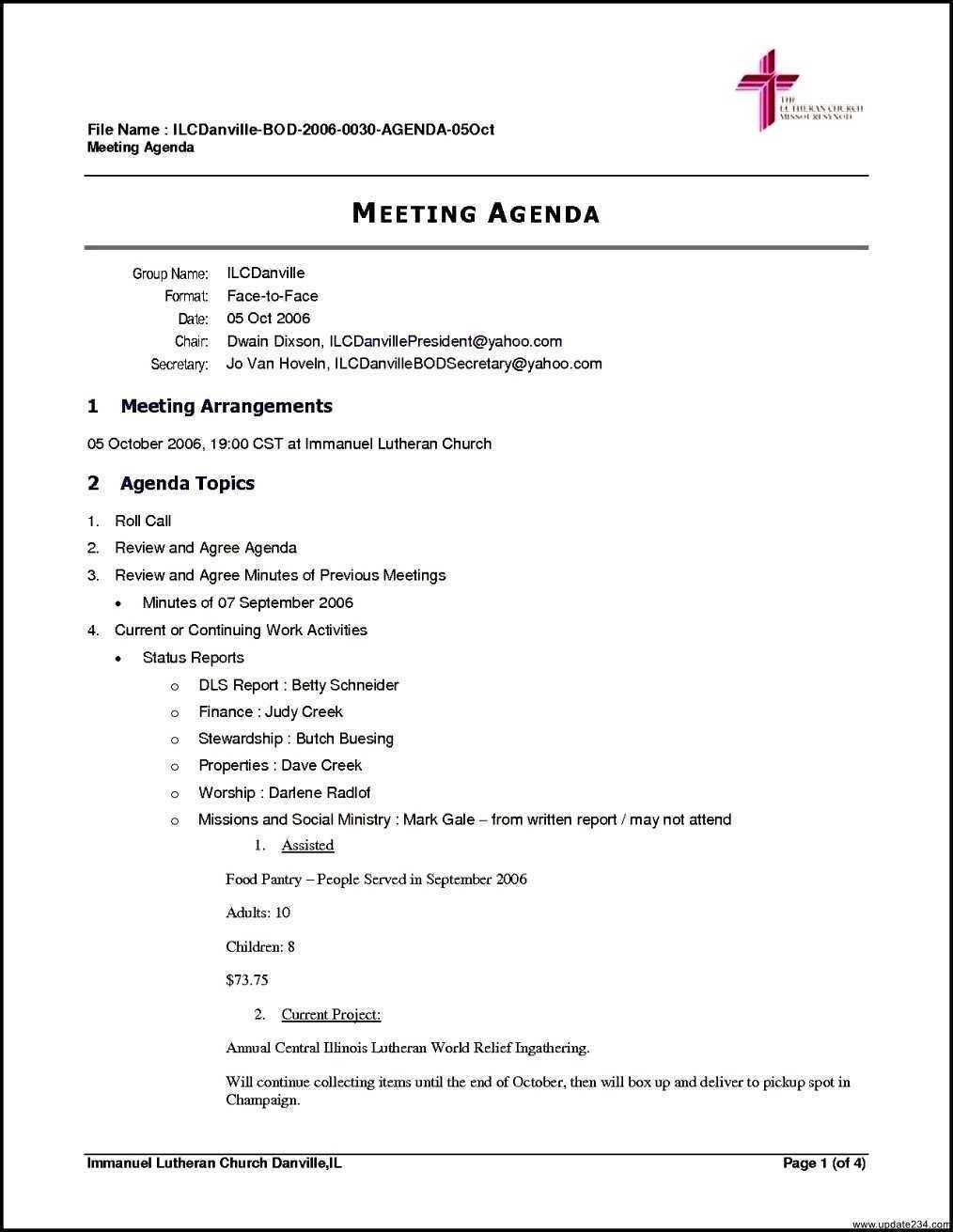 97 How To Create Church Meeting Agenda Sample Template in Photoshop with Church Meeting Agenda Sample Template