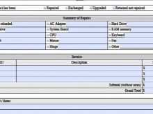 97 How To Create Computer Repair Invoice Template Excel in Photoshop by Computer Repair Invoice Template Excel