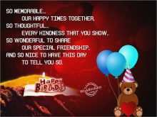 97 Online 22Nd Birthday Card Template Templates with 22Nd Birthday Card Template