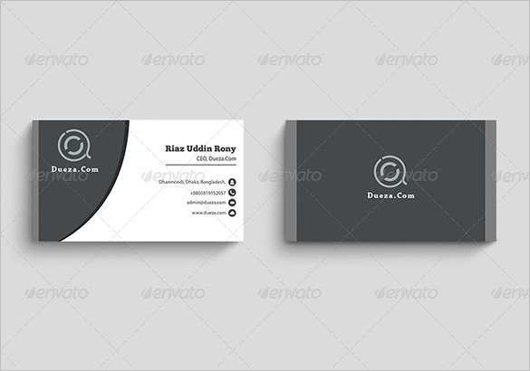 97 Online Business Card Template Pdf Download Maker for Business Card Template Pdf Download